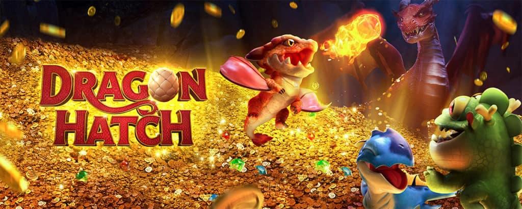 รีวิวเกมสล็อตออนไลน์ Dragon Hatch บนเว็บ SBOBET